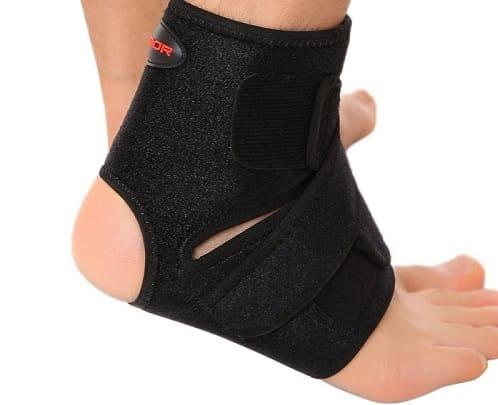 انواع مچ بند طبی برای درمان کشیدگی و رگ به رگ شدن مچ پا