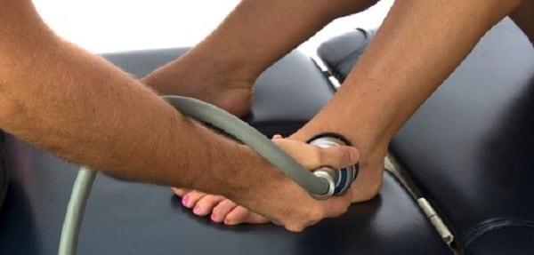 درمان پا درد با اولتراسوند تراپی