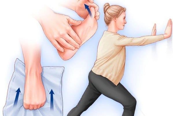 درمان پا درد هنگام راه رفتن با انجام تمرینات تقویتی