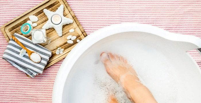 راههای درمان خانگی ورم پا