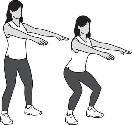 تمرین خم شدن زانو برای جلوگیری از صدادن مفاصل