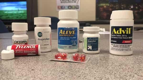 داروهای بدون نسخه ضد دردبرای درمان درد لگن