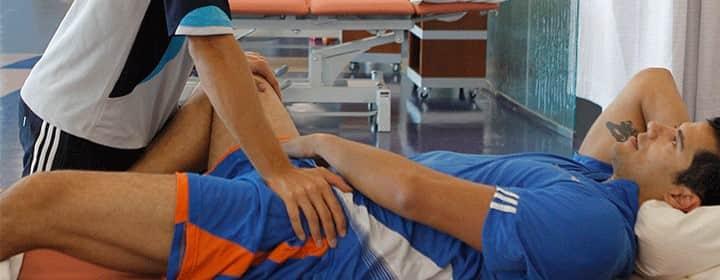 فیزیوتراپی برای درمان درد کشاله ران