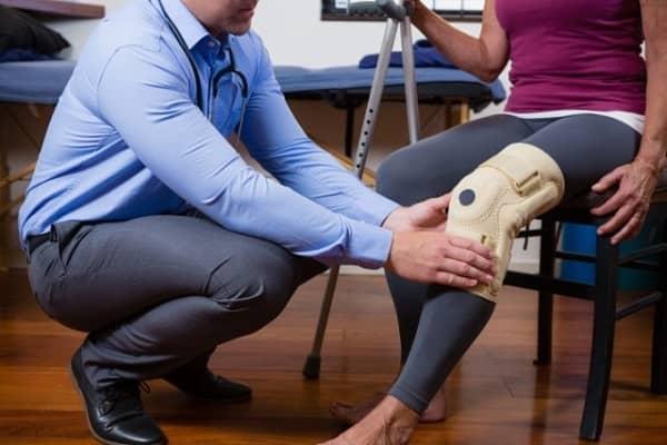 درمان ورم زانو با فیزیوتراپی