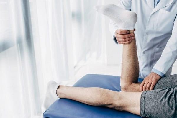 درمان پای پرانتزیبا فیزیوتراپی
