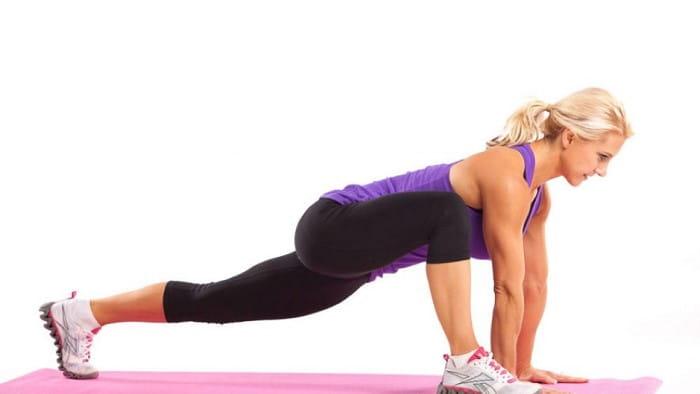 تمرین لانژ دوندگان برای داشتن عضلات همسترینگ خوب