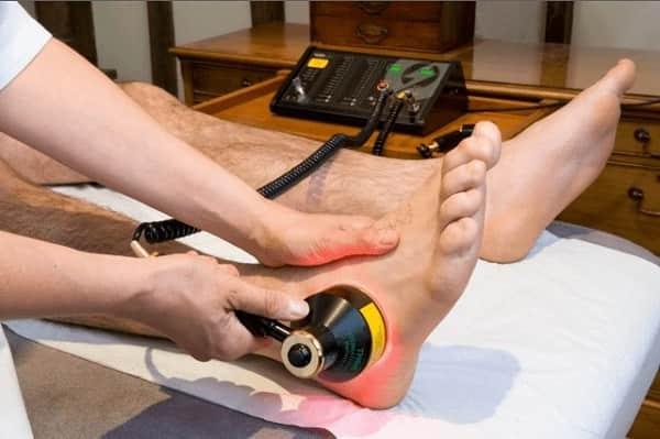 درمان پا درد با لیزر