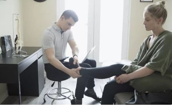 محدوده حرکت برای درمان اختلال تاندون تیبیال خلفی