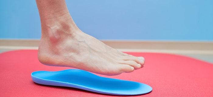 وسایل کمکی برای ایجاد قوس کف پا و کفیهای طبی