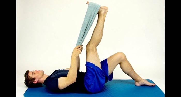 تمرینات ورزشی برای صافی کف پاها